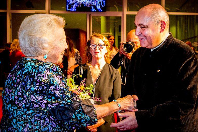 Beatrix en Pierre Audi Beeld anp