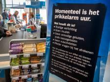Rustig, ook met klanten, tijdens prikkelarm boodschappenuurtje in Sint-Michielsgestel