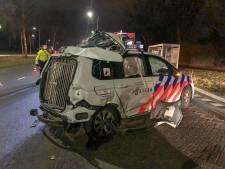 Politiewagen met spoed betrokken bij ongeluk in Eindhoven