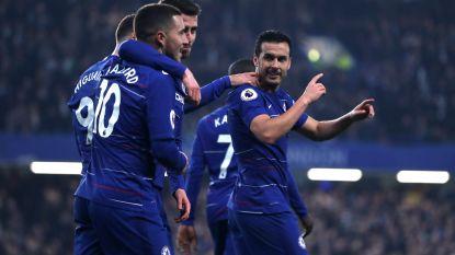 Chelsea wint Londense kraker en maakt einde aan titeldroom Tottenham