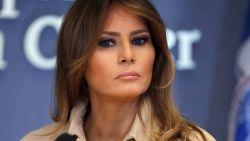 """Melania lijnrecht tegenover Donald Trump: """"Families mogen niet gescheiden worden"""""""
