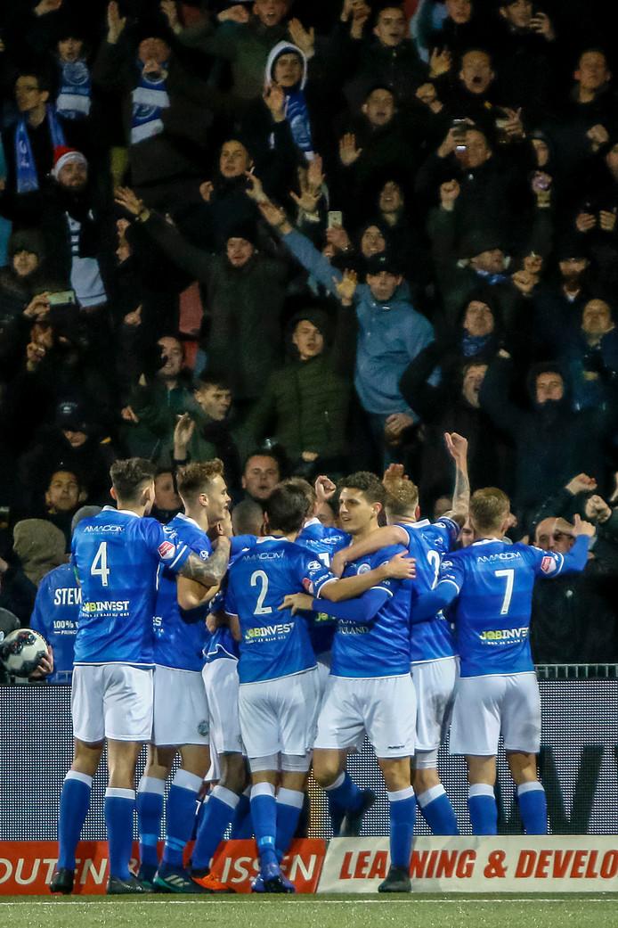 FC Den Bosch viert de zege op Roda JC.
