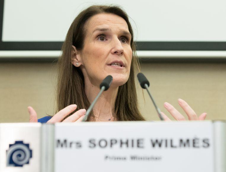 Premier Sophie Wilmès (MR) kan in de Kamer slechts op 38 van de 150 zetels rekenen.