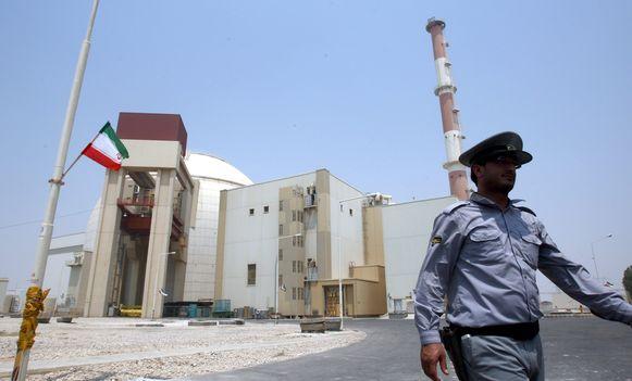 Archiefbeeld. De kerncentrale in Bushehr, in het zuiden van Iran.