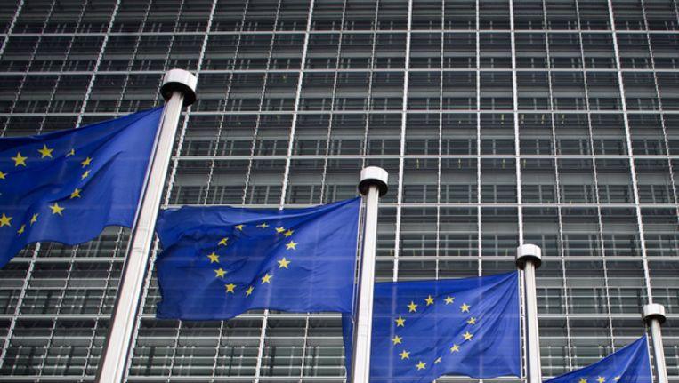 Het Berlaymontgebouw in Brussel, het hoofdkantoor van de Europese Commissie. Beeld ANP