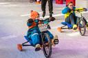 Ice bike challenge op schaatsbaan in Roosendaal. Archieffoto: Tonny Presser/Pix4Profs