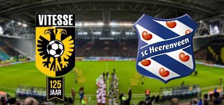 LIVE: Vitesse op jacht naar tweede overwinning in Arnhem