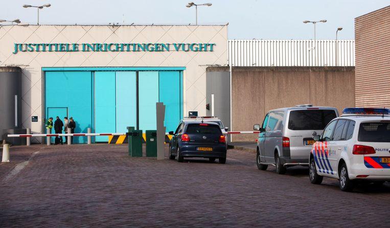 De gevangenis in Vught. In Vught zit één van de twee speciale terroristenafdelingen (TA). Beeld ANP