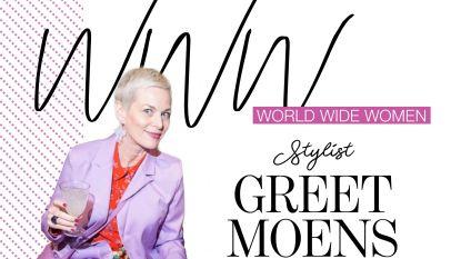 """Styliste Greet Moens: """"Ik wil aantonen dat vijftigers nog meetellen. Mode is niet alleen voor jonge vrouwen"""""""