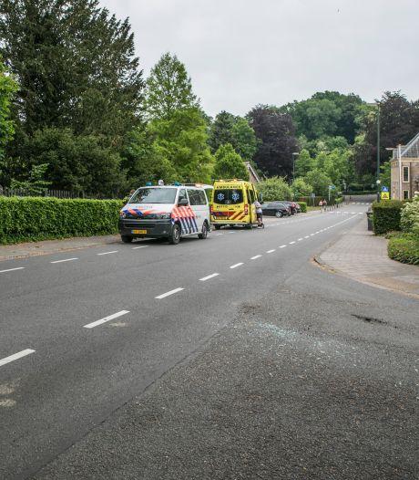 Wéér een ongeval met een wielrenner in Rozendaal