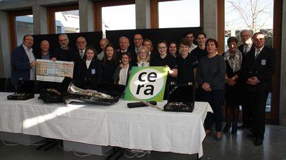 Cera steunt jeugdmuziek van Sint-Cecilia