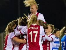 Ajax Vrouwen neemt corners beter dan PEC Zwolle: 3-1