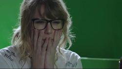 VIDEO: Taylor Swift oog in oog met...Taylor Swift