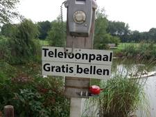 Een bijzonder alternatief voor de verdwenen gele praatpaal