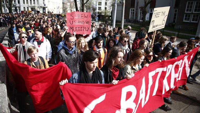 De commissie is een voortvloeisel uit de Maagdenhuisbezetting en de studentenprotesten. Beeld anp