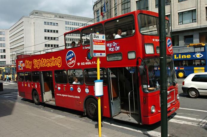 """Les bus touristiques """"hop on - hop off"""" seront électriques à partir de l'an prochain."""