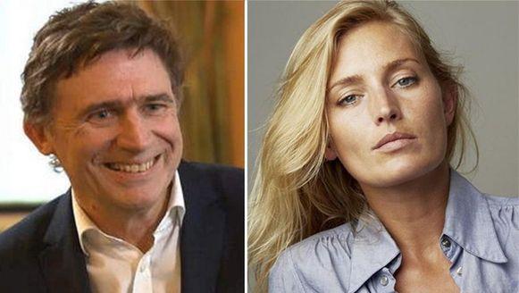 Erik Van Looy en Ingrid Parewijck.