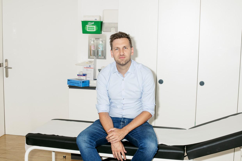 Bart Van Geluwe: 'Gaat het over seksueel genot, dan hinkt de aars alweer bij de penis en de vagina achterop. Ook omdat er, zeker bij heteromannen, nog zo'n taboe op rust.' Beeld Tim Coppens