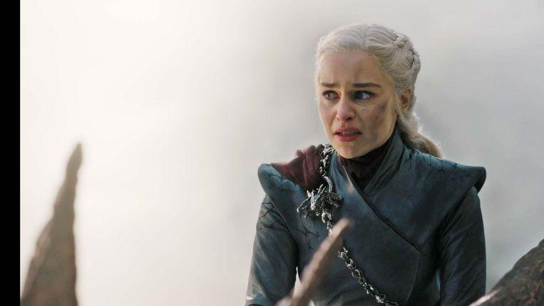Daenerys Targaryen in aflevering 5.  Beeld Game of Thrones