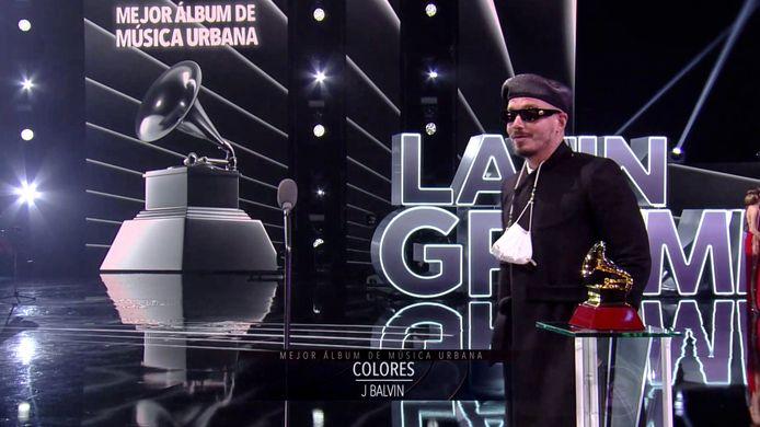 J. Balvin ontvangt een Latin Grammy voor zijn album 'Colores', waar ook de Afro Bros aan meewerkten.