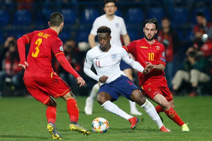 Ondanks weinig speelminuten bij Chelsea liet bondscoach Gareth Southgate de jonge Callum Hudson-Odoi dit jaar zijn opwachting maken in de nationale ploeg.