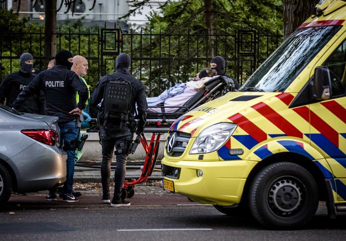 Radek B. werd destijds op een brancard afgevoerd bij de Poolse ambassade in Den Haag