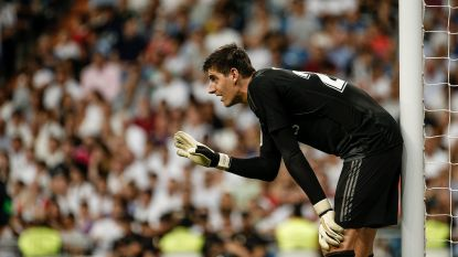 """Courtois duidelijk over keeperskwestie: """"Er is geen beurtrol bij Real Madrid"""""""