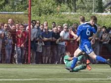 Oldenzaal-speler beukt tegenstander na goal, prachtredding Stevo-keeper