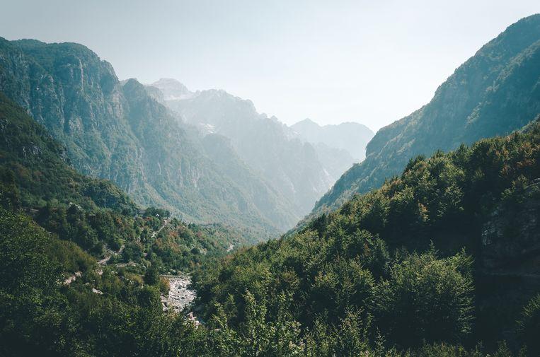 Albanese Alpen, Albanië.