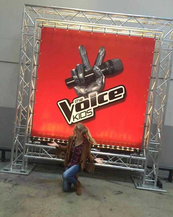 Lois Senger wist al in de zomer dat ze door was naar de volgende ronde van The Voice Kids.