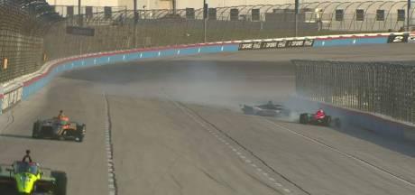 Van Kalmthout over crash bij debuut IndyCar: 'Ik voelde me zó slecht'