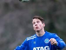 Erik Quekel scoort voor Almere City