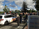 De boeren zorgen voor flinke drukte op het politiebureau in Apeldoorn.