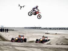 Haagse regio toneel van promotievideo: Formule 1-wagens racen met piepende banden langs paleis en door kas