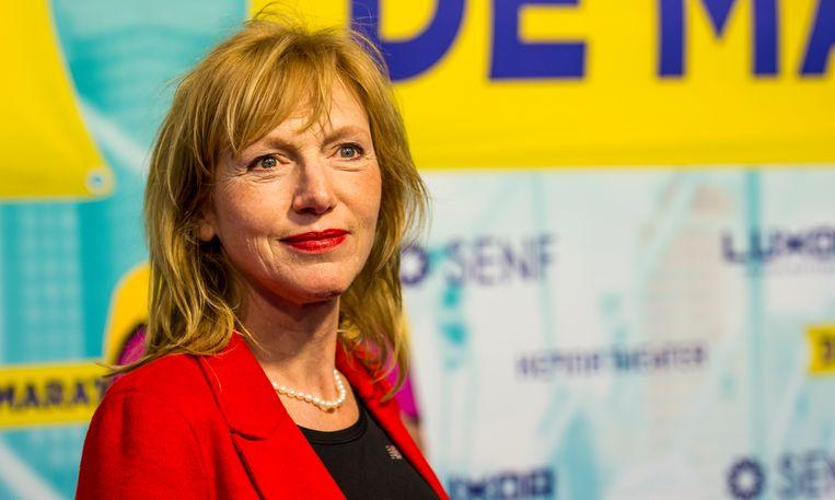 Johanna ter Steege, te zien in theaterspektakel Hanna van Hendrik. Beeld ANP Kippa