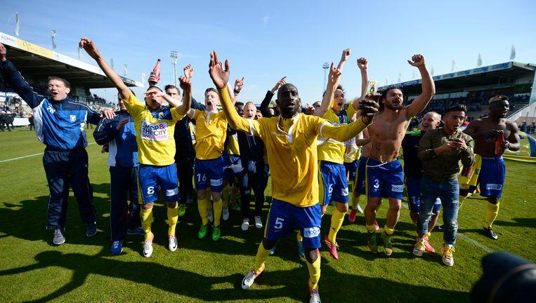 STVV werd afgelopen seizoen kampioen in tweede klasse