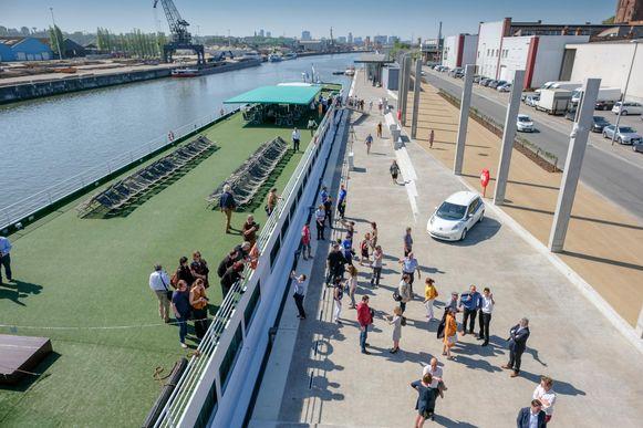 De Brussels Cruise Terminal is de eerste aanmeerplaats uitsluitend gericht op riviercruiseboten.