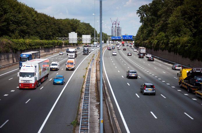 De verbreding van de A27 ter hoogte van Amelisweerd is voorlopig van de baan.