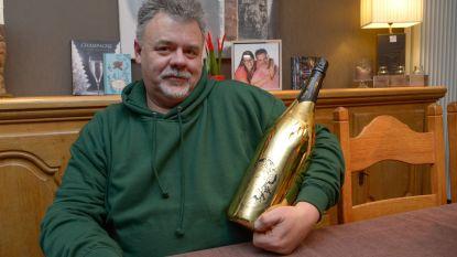 Stefaan zamelt met champagneverkoop 25.000 euro in voor Kinderkankerfonds
