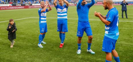 Aan de gehele puntenoogst van PEC Zwolle ging een achterstand vooraf