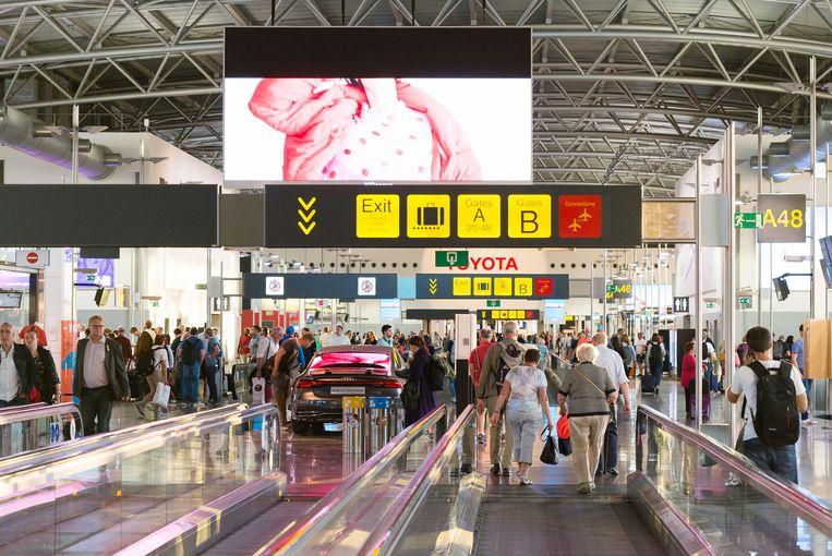 De luchthaven telde vorige maand 2,6 procent meer passagiers dan in januari 2018.