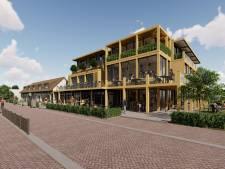 Rietberghof blikvanger aan Gieterse 'Hylkemaboulevard'