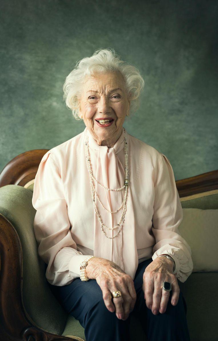 Josephine Polman (99): 'Ik heb nog de kracht om me te verwonderen' Beeld Dana van Leeuwen