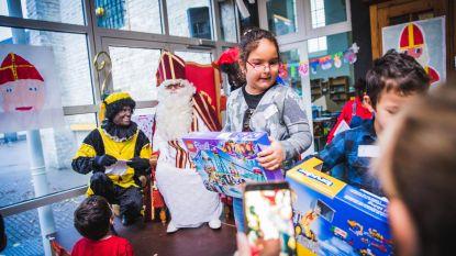 Sint maakt eerst tijd voor kwetsbare kindjes