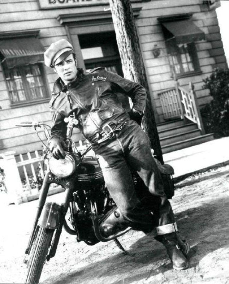 Marlon Brando in een 501-jeans.