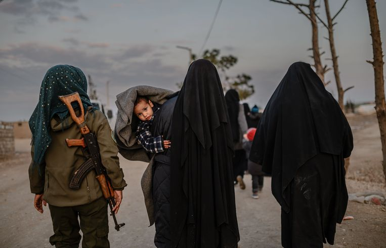 De levensomstandigheden in het kamp Al-Hol zijn dramatisch.