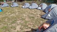 De Hoogvlieger bouwt tentenkamp voor proclamatie