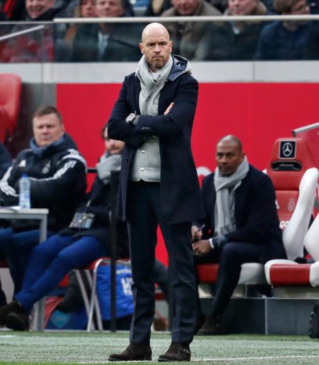 Ten Hag kijkt bij Ajax ook al naar volgend seizoen