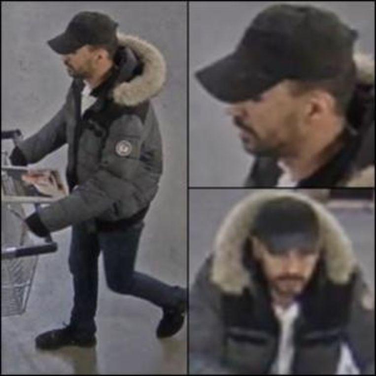 Dader gewapende overval winkel Metro in Brussel.