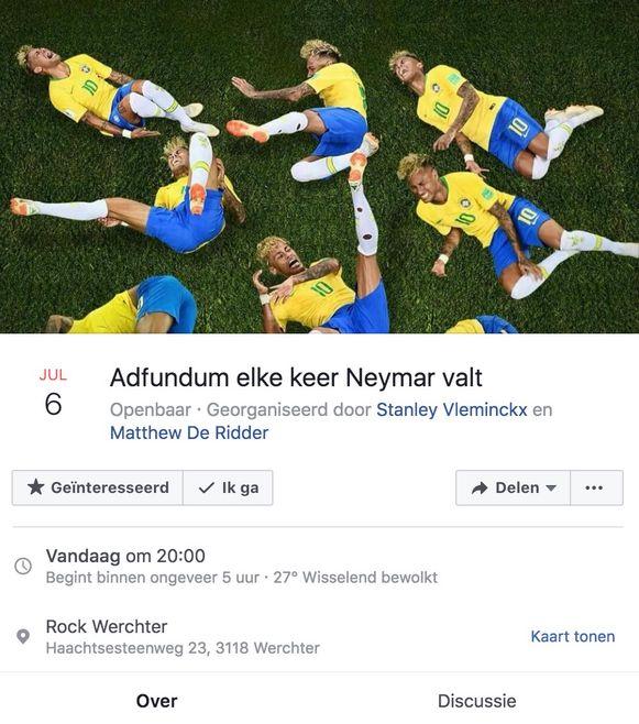 Neymar valt? Adfundum!